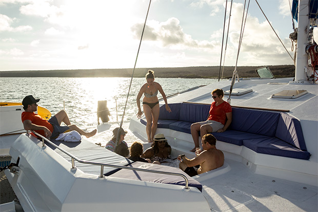 Catamarans to the Galapagos Islands December 2016
