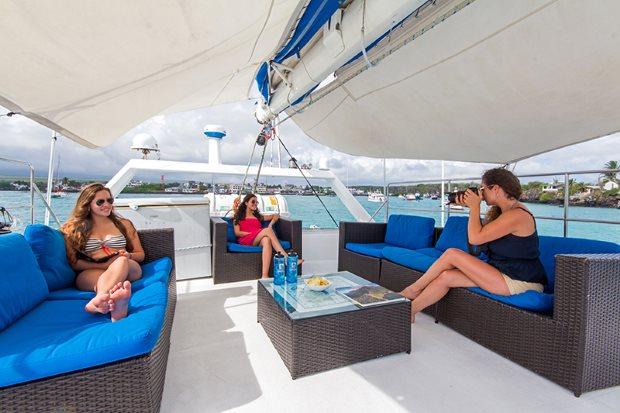 Travel to the Galapagos Islands aboard the cruise Nemo III