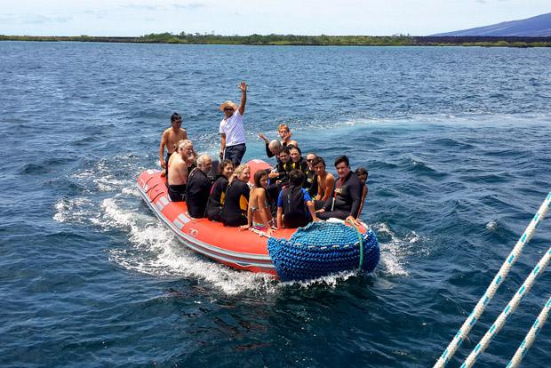 Catamaranes de lujo a las Islas Galápagos agosto 2020