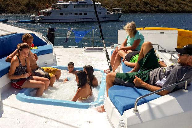 Catamaranes familiares a las Islas Galápagos agosto 2020