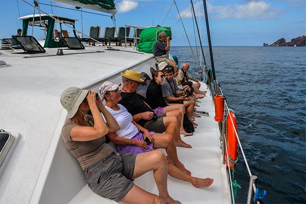 Turismo a las Islas Galápagos enero 2018
