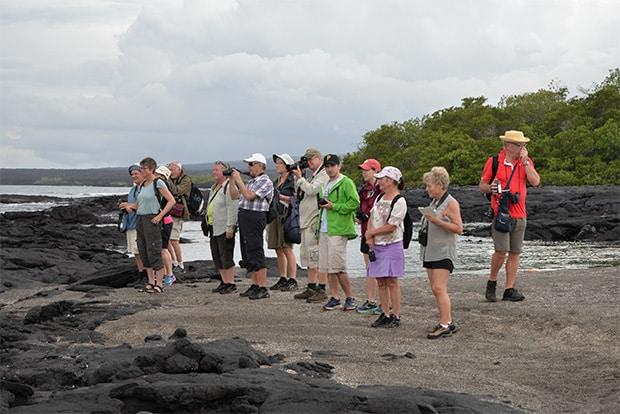 Tourism to the Galapagos Islands December 2017