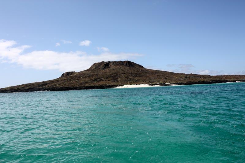 Chinese Hat Galapagos Island