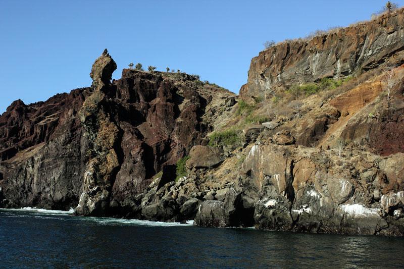 Santiago: Buccaneers Cove Galapagos Island