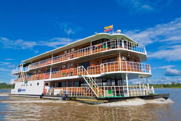 Manatee Amazon Explorer Cruise In Amazon River