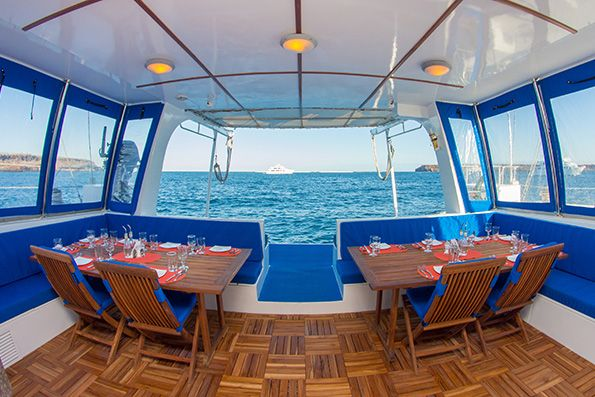 Dining in Cruise Nemo II