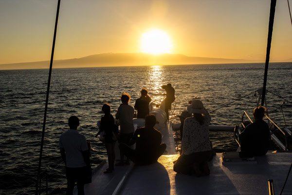 Sunset With Friends aboard Nemo II