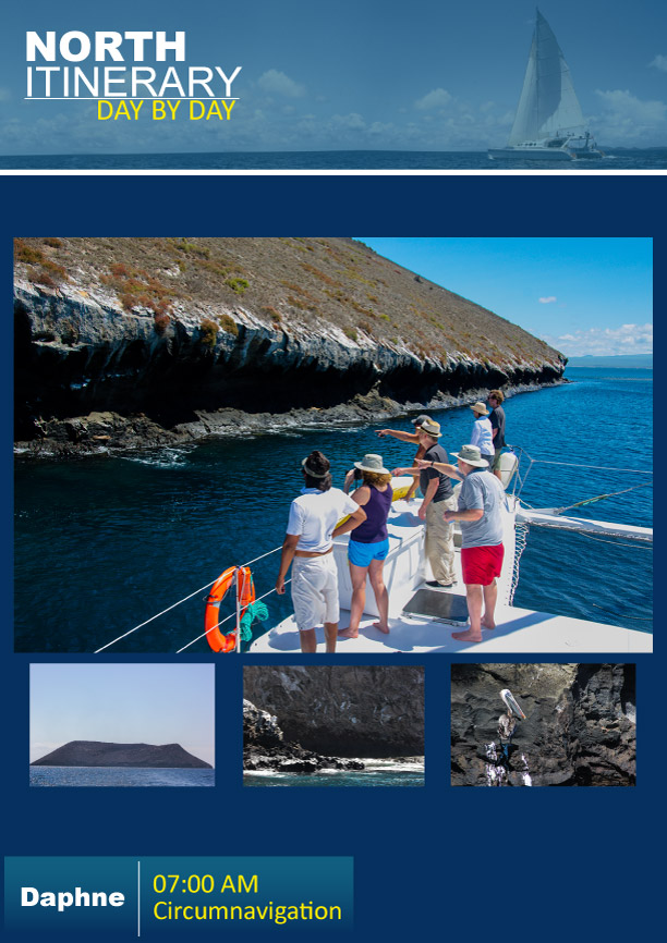 North Itinerary For Nemo Iii Galapagos Cruises