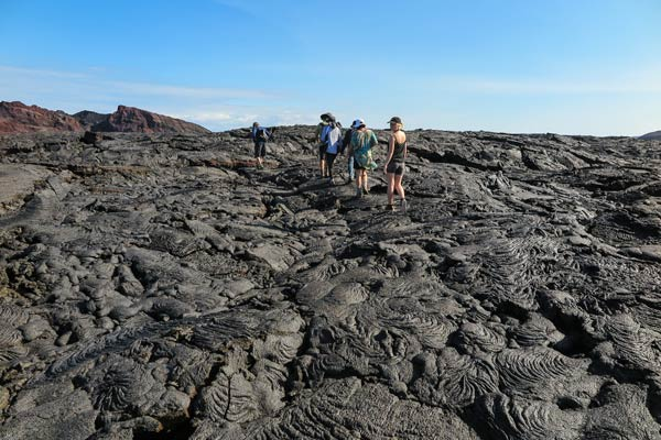 Galapagos Lava Paths