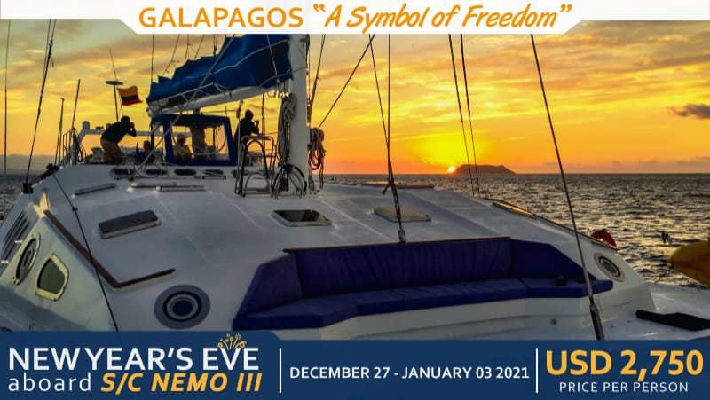 Galapagos Christmas 2020 Christmas & New Year's Eve Nemo III 2020   Nemo Galapagos Cruises